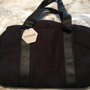 YSL L'HOMME Black Duffel Bag New